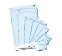 Пакеты бумажно-целлюлозные для стерилизации 2 индикатора (90х230х30 мм)