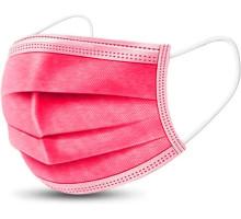Процедурные маски Dentix (розовые)